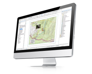 ArcGIS Computer Screen