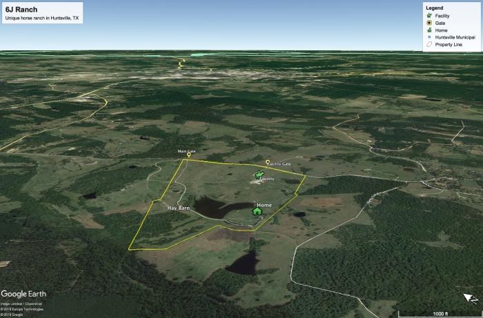 6J Ranch Map